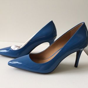 Blue Calvin Klein Pumps